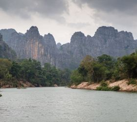 IUCN's visit to Laos to update on the  Hin Nam No Transboundary UNESCO Nomination